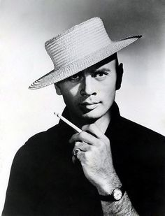 "Yul BRYNNER (1920-1985) * AFI Top Actor nominee, died of lung cancer in 1985, same day as Orson Welles. A few days later, a public service announcement was shown on TV. In it, he expressed his desire to make an anti-smoking ad knowing his death was imminent. He looked directly into the camera for 30 seconds and said, ""Now that I'm gone, I tell you: Don't smoke. Whatever you do, just don't smoke. If I could take back that smoking, we wouldn't be talking about any cancer. I'm convinced of…"