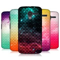 Head Case Printed Studded Ombre Protective Back Case Cover for Motorola Moto X | eBay