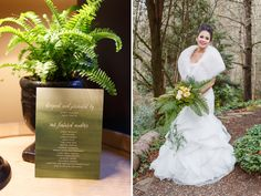 Pacific NW Fern Wedding at JM Cellars | Coordination: Event Success | Amelia Soper Photography | Event: Weddings in Woodinville ➛ See more http://www.weddings.banquetevent.com/blog/jm-cellars-weddings-in-woodinville-2016.html #weddingsinwoodinville #winerywedding #nwwedding #greenwedding #fernwedding