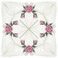 Pearl Roses Quilt 2