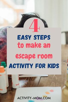 How to set up an Escape Room for Kids with Puzzles and Clues that lead to a prize. Adapt this for kids of all ages. Simple tips and ideas to get you started.   #escaperoom #kids #escaperoomkids #kidsactivities #kidspartyideas Kids Learning Activities, Party Activities, Holiday Activities, Fun Learning, Building Games For Kids, Outdoor Games For Kids, Escape Room For Kids, Escape Room Challenge, Train Up A Child