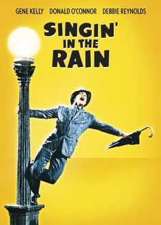 """Singin' in the Rain is a 1952 American musical comedy film directed by Gene Kelly and Stanley Donen, starring Kelly, Donald O'Connor and Debbie Reynolds, and choreographed by Kelly . It offers a light-hearted depiction ofHollywood, with the three stars portraying performers caught up in the transition fromsilent filmsto """"talkies."""""""