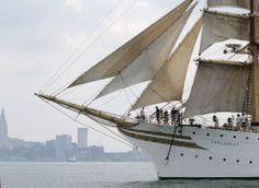 Tall ships race out of Cleveland in the Challenge Great Lakes 2013 (Photo Gallery) | cleveland.com