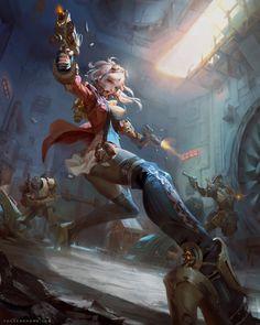 Gunner by yuchenghong.deviantart.com on @DeviantArt