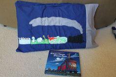 Sewing with Kids - Make a Steam Train Dream Train pillow!!!