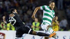 Celtic's Virgil Van Dijk tussles with Qarabag's Rydell Poepon Virgil Van Dijk, Thing 1, Football Match, Champions League, Finals, Celtic, Reading, Glasgow, Sports