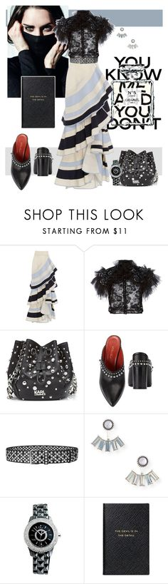 """""""You Don't Know My Name"""" by scope-stilettos ❤ liked on Polyvore featuring Chanel, Johanna Ortiz, Rodarte, Karl Lagerfeld, 3.1 Phillip Lim, Faith Connexion, Aéropostale, Christian Dior and Smythson"""