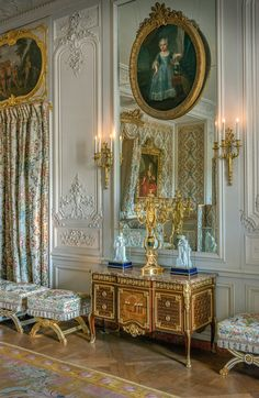 Versailles | France - Grand Cabinet of Madame Adelaide