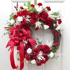 New for Spring and Summer! Red Roses. Great for Valentine's Day, too!