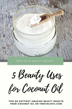 Coconut oil is the best beauty product Best face moisturizer Coconut oil beauty uses Homemade Face Moisturizer, Natural Face Moisturizer, Moisturizer For Oily Skin, Face Scrub Homemade, Homemade Skin Care, Face Cleanser, Coconut Oil Beauty, Coconut Oil For Acne, Coconut Oil Uses