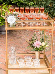 #bar #barcart #champagne @weddingchicks