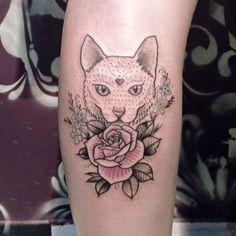 #TattooFriday - Débora Iglesias, Porto Alegre, Brasil;