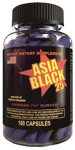 Cloma Pharma Asia Black is an amazingly powerful weight loss and appetite suppressant. Ideal for those who demand the best when it comes to energy and weight loss. Buy Asia Black now from Black Diamond Supplements.
