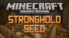 Minecraft PE Seeds - Watch this stronghold seed showcase or just copy pasta the seed #