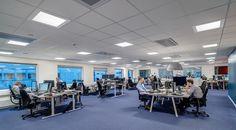 C70-R Einbau-/Einlegeleuchte - Innenraumleuchten mit sichtbarem Rahmen, 2200-4300 Lumen Leuchtenlichtstrom, IP55 raumseitig