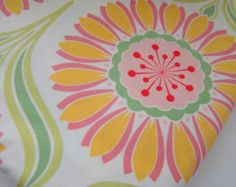 Pop Garden Fabric by Heather Bailey, Pop Daisey Rose OOP HTF