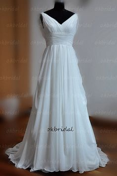 plage de mariage robe robe de mariage de plage robe de par okbridal