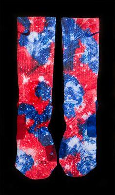 Thesockgame.com — All Star Galaxies - Custom Nike Elite Socks