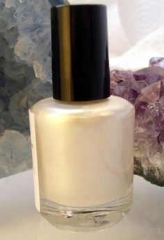 The All Natural Face - Nights in White Satin Nail Polish, $7.00 (http://www.theallnaturalface.com/nights-in-white-satin-nail-polish/)