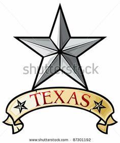 western silhouette clip art free | Texas Star clip art - vector ...