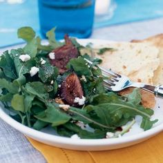 Roasted Fig and Arugula Salad by Cooking Light