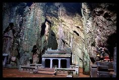 Temple in the Marble Mountains, Vietnam
