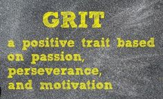 Angela Lee Duckworth's TED talk is a must view for educators and parents. She explains quite convincingly that more than IQ, talent, or family wealth, success in academics and in life depends on grit....