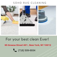 SoHo Rug Cleaning provides exclusive Carpet Cleaning NYC services, along with Upholstery & Rug Cleaning services using latest technology in New York City. Rug Cleaning Services, Best Carpet, Clean Machine, Floor Covering, How To Clean Carpet, Soho, Nyc, New York, Flooring