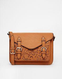 ASOS floral cut lace satchel bag