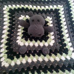 Ein Hippo-Schnuffeltuch