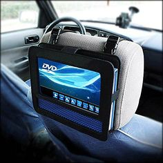 car headrest mount holder for 9 inch portable dvd player case new you are buying