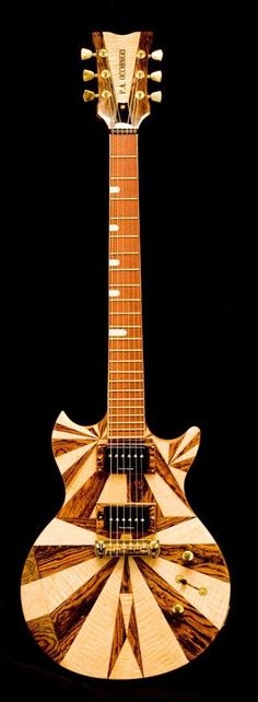 Occhineri Guitars #LardysChordophoneOfTheDay ~ https://www.pinterest.com/lardyfatboy/lardys-other-fretted-chordophones-of-the-day/ ~