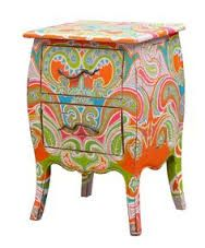 We have a big collection of hand painted furniture in  our agency. You will get various model kitchens at great price.