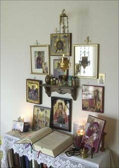 Sweet Home Home Sweet Home may refer to: Religious Images, Religious Icons, Religious Art, Orthodox Prayers, Catholic Prayers, Catholic Altar, Prayer Corner, Home Altar, Saints