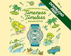 """BABY-G 20th Anniversary Compilation""""Timeness Timeless"""" Selected By DJ MAAR   watch"""