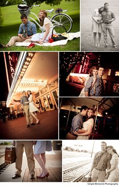 DFW wedding photographer - Simple Moments Photography- I love the looking for the train shot:)
