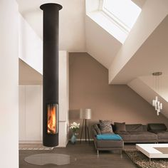 Focus fireplaces present Slimfocus, a sustainable energy source for restaurants, hotels, and homes.