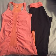 Workout outfit for sale! Tank top and pants are size medium! Kyodan Other