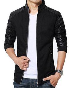 XueYin? Men's Slim Fit PU Leather Jacket Outwear(Black,XS... https://www.amazon.com/dp/B01FGCOV6U/ref=cm_sw_r_pi_dp_x_Lig7xb9SGVMGS