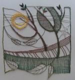 Foto Bobbin Lace, Felting, Fiber Art, Art Projects, Mixed Media, Embroidery, Crafts, Yarns, Lace Flowers