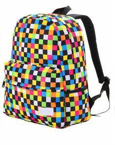 Cool Colorful Raibow Backpack bag