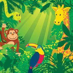 Vector jungle animals GraphixShare A picture