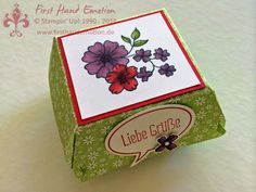 Stampin' Up! by First Hand Emotion: Hamburgerbox