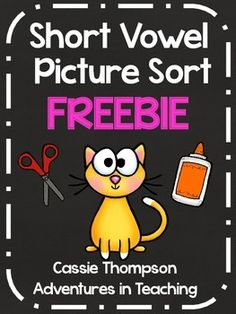 Do your kiddos need reinforcement on their short vowel sounds? This freebie sort will get your students thinking about what sounds each letter makes. This is a 2 page download that contains the letters a, e, i, o, and u to use as headers when sorting.