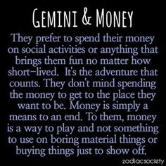 Omg..this explains how I spend my money on stuff like concerts, laser tag, books and movies.