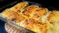 Berenjenas rellenas de carne. Receta fácil para preparar deliciosas berenjenas rellenas. Con esta receta conseguirás un plato de celebbración a buen precio.