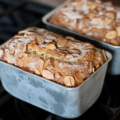 Moist delicious cardamom-orange coffee cake topped with an almond cinnamon sugar topping baked in cute mini loaf pans so theyre easy to share and sturdy enough to mail to far away friends. The post Cardamom-Orange Coffee Cake Recipe Baking Recipes, Cake Recipes, Dessert Recipes, Dessert Bread, Brunch Recipes, Bread Recipes, Just Desserts, Delicious Desserts, Coffee Cake Loaf
