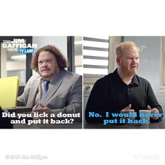 The @GaffiganShow on @ComedyCentral.