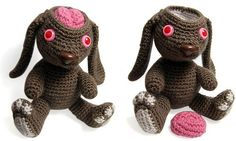 Amigurumi bunny's brain pops out - Boing Boing