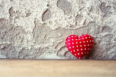 Valentines Photography Backdrops  Red Heart  by katehome2014